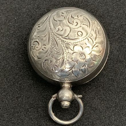 Antique Sterling Silver Sovereign Case (1)